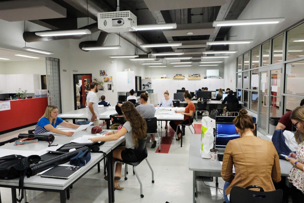 Cours d'architecture au Cégep André-Laurendeau