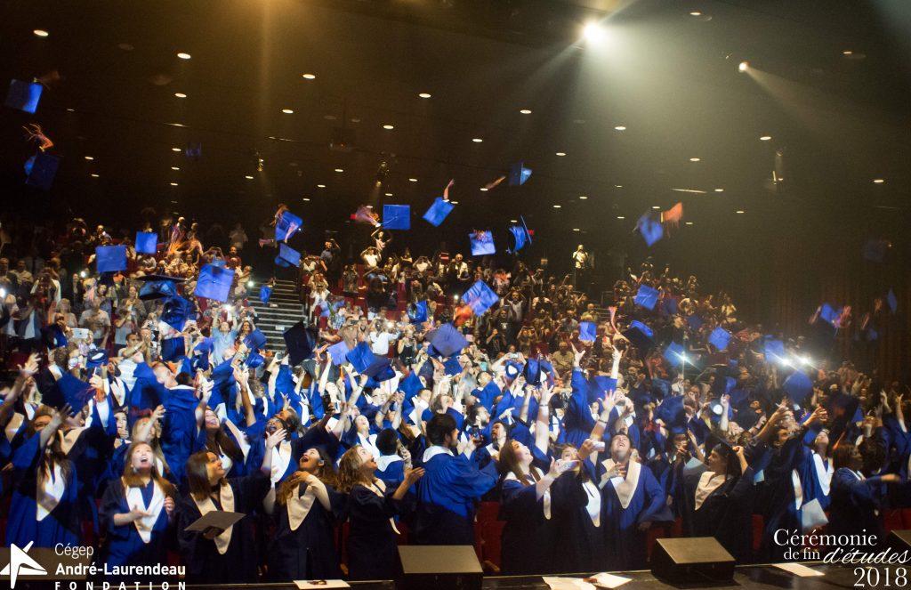 Cérémonie de graduation au Cégep André-Laurendeau