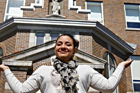 Olivia Carpin, Estudante, Cégep de la Gaspésie et des Îles – campus de Gaspé