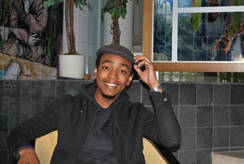 Abdallah Anthoumani, student, Cégep de Jonquière