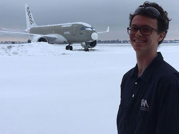 Yves-Orion Cossec, Étudiant, École nationale d'aérotechnique