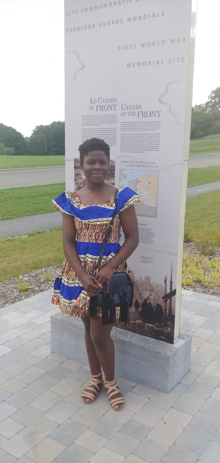 Guilhem Cynthia Ngansop Toukam, Cégep de Lévis