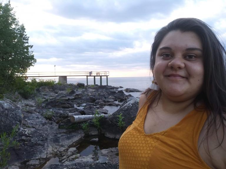 Amélia Grondin, Cégep de Shawinigan